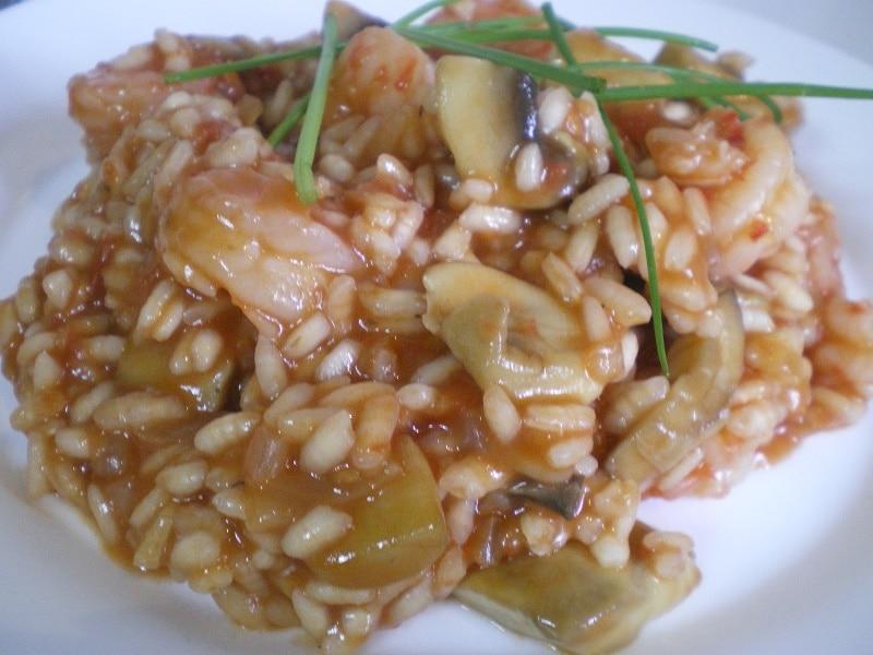 ριζότο με σχοινόπρασο
