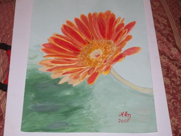IVYorange flower