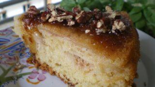 Κέικ Μήλων με Βανίλια