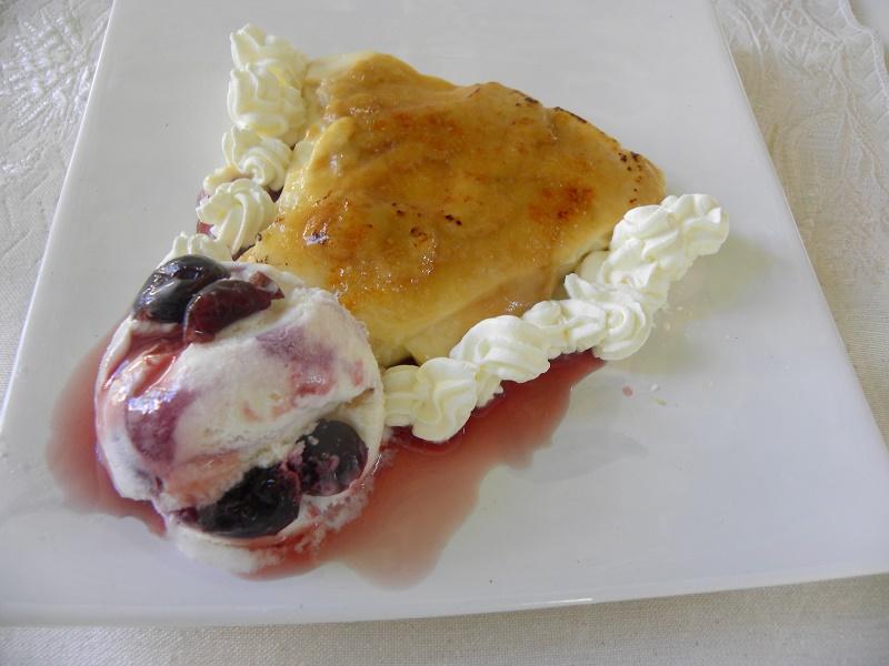 Ρυζόγαλο στο φούρνο με καραμέλα εικόνα