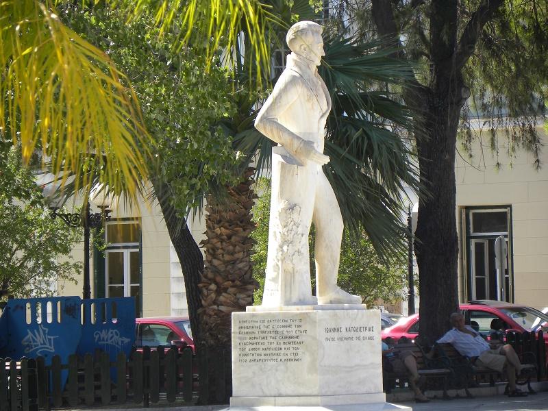 Άγαλμα του Καποδίστρια στο Ναύπλιο εικόνα