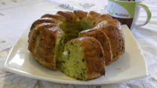Αλμυρό Κέικ με Κολοκύθι, Πατάτα, Φέτα και Κασέρι