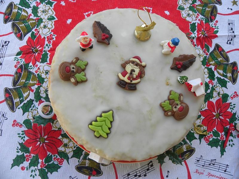 Παραδοσιακό Χριστουγεννιάτικο Κέικ