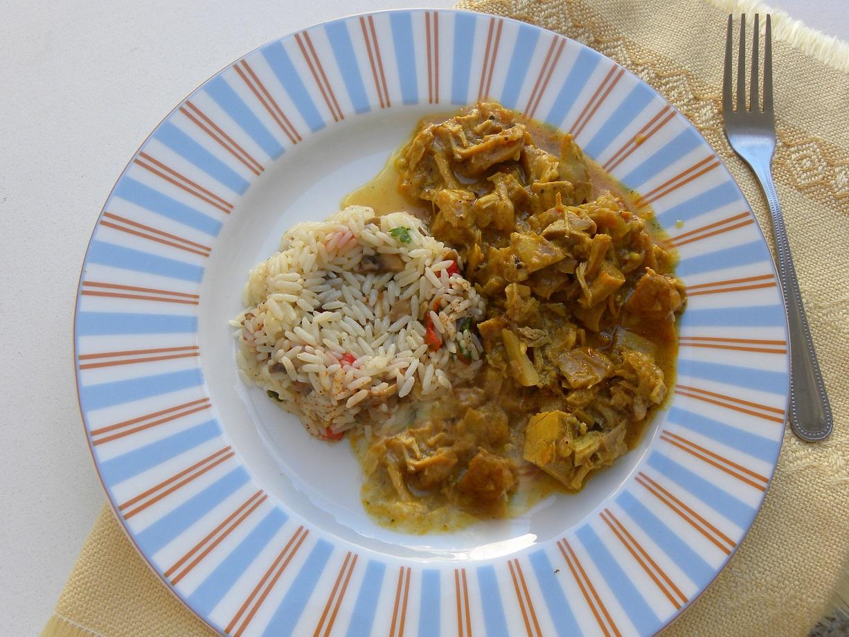 Κάρυ με ρύζι εικόνα