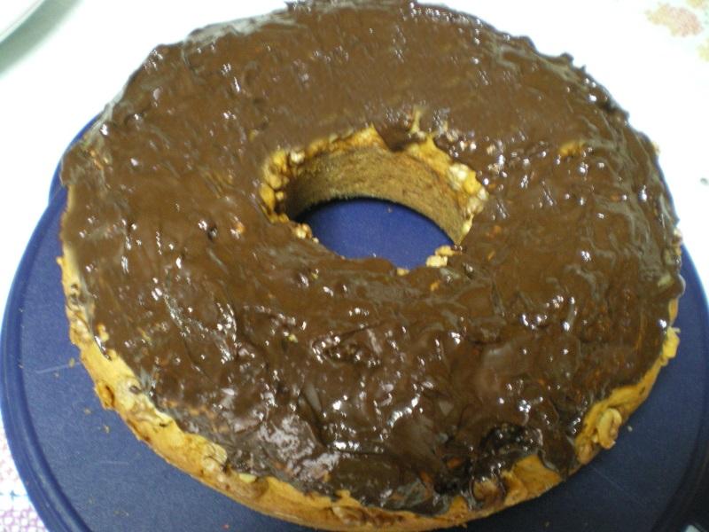 Κέικ καρότου με γλάσο εικόνα