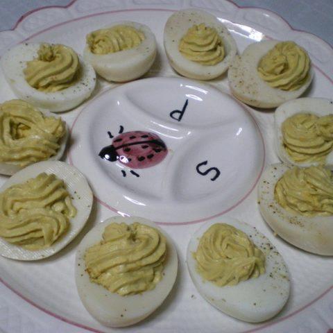 Αυγά γεμιστά εικόνα