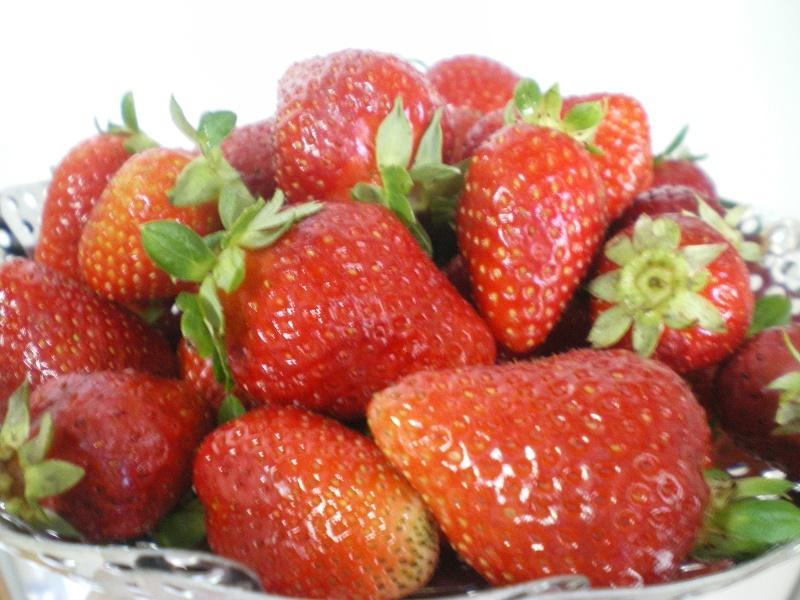 ωμές φράουλες εικόνα