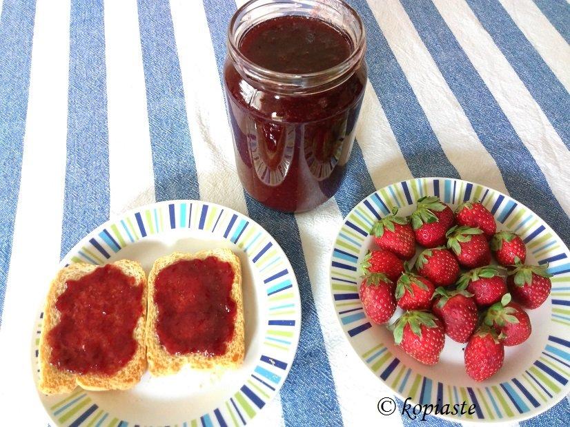 Μαρμελάδα φράουλας εικόνα