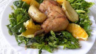 Κοτόπουλο Πανέ στο Φούρνο με Πατάτες