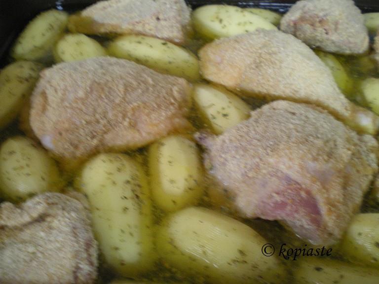 κοτόπουλο-πανέ-προετοιμασία