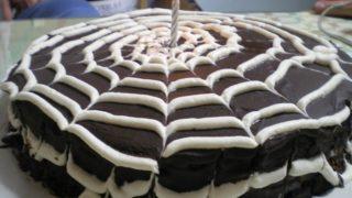 Τούρτα Σοκολάτας Ιστός Αράχνης
