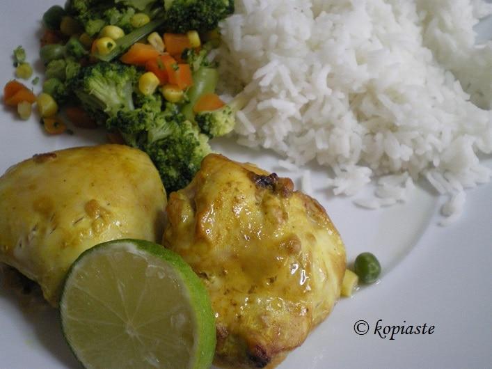 Ινδικό Κοτόπουλο στο γκριλ