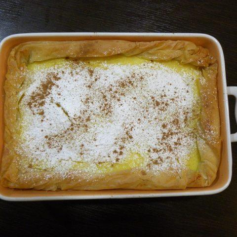 Γαλατόπιτα με φύλλο εικόνα