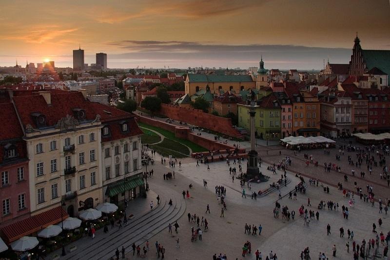 Παλιά Πόλη Βαρσοβία εικόνα
