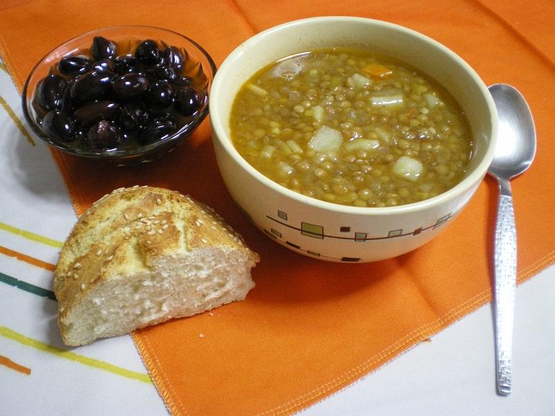 φακές σούπα εικόνα