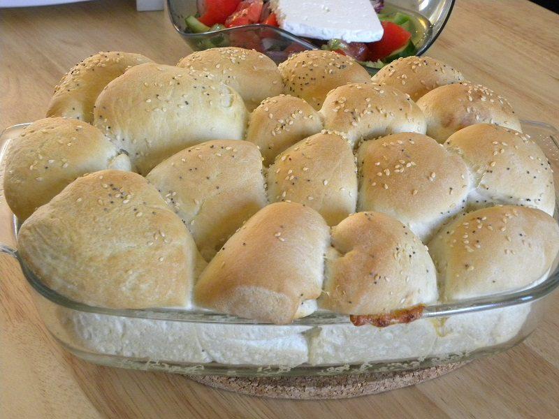 ψωμάκια γεμιστά εικόνα