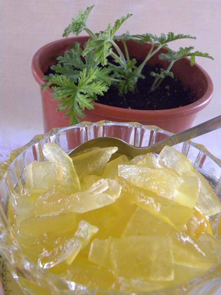 Γλυκό καρπούζι με αρμπαρόριζα εικόνα