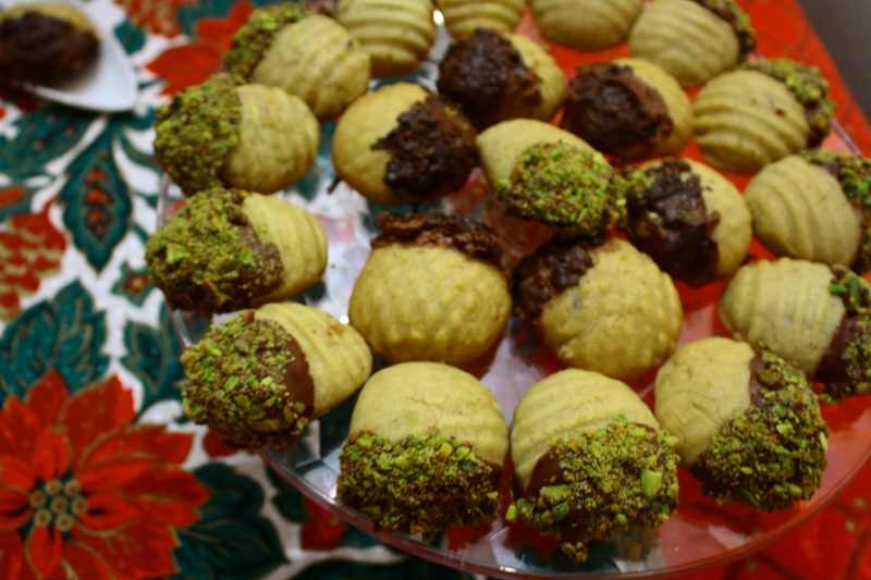 Μελομακάρονα με σοκολάτα εικόνα