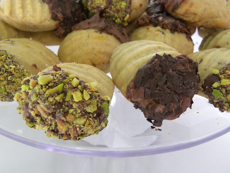 Σοκολατένια Μελομακάρονα με φιστίκι εικόνα