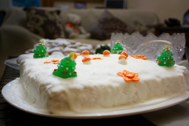 Χριστουγεννιάτικο Κέικ εικόνα