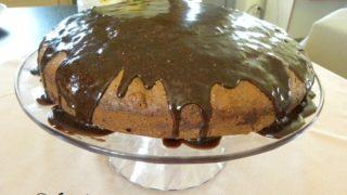 Πανεύκολο Νηστίσιμο Κέικ Σοκολάτας-Πορτοκαλιού