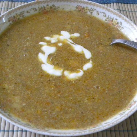 Σούπα γαλοπούλας εικόνα