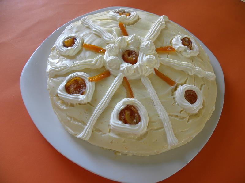 Κανταΐφι με Κρέμα πορτοκαλιού εικόνα