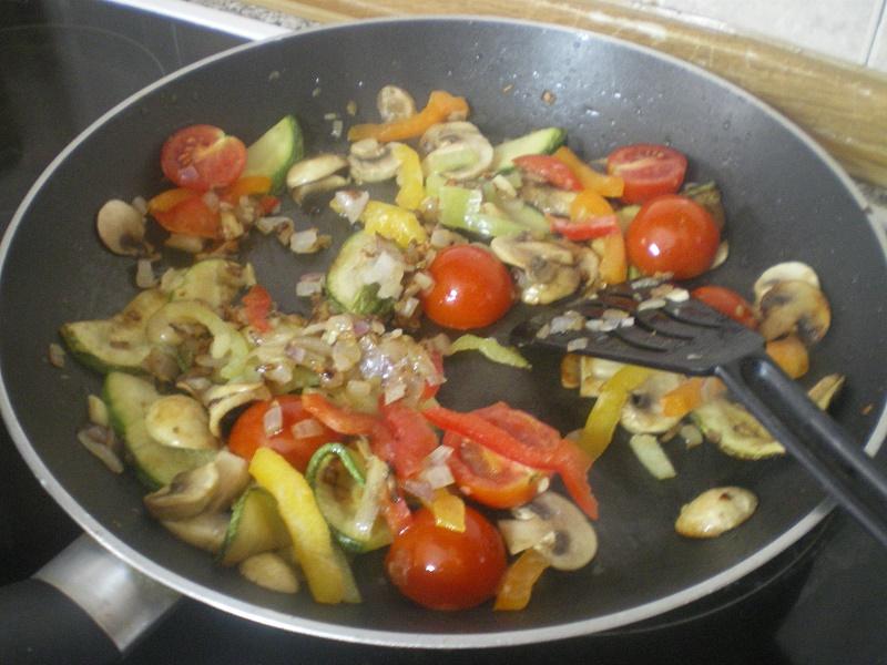 Λαχανικά που σοτάρονται εικόνα