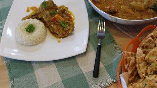 Ινδικό Κάρυ με Κοτόπουλο αλά Ελληνικά
