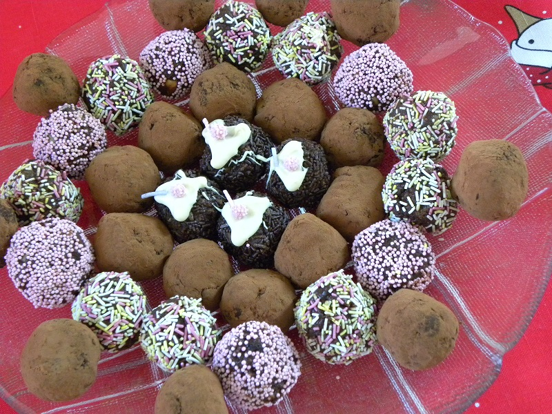 Τρούφες σοκολάτας εικόνα