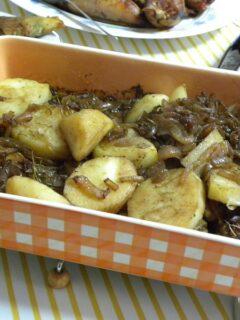 Νηστίσιμες Πατάτες Λυωνέζ εικόνα