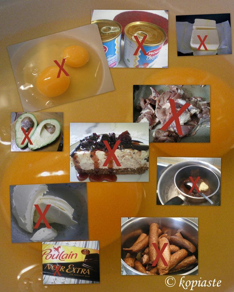 απαγορευμένα φαγητά για τη χολοκυστοπάθεια εικόνα