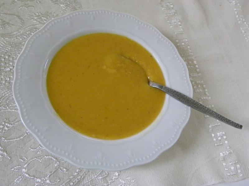 Σούπα Φάβας με Γλυκοκολοκύθα εικόνα