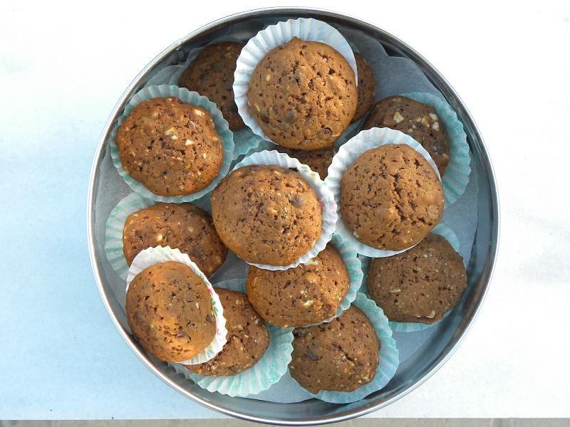 Κούκις τσιπς μαύρης σοκολάτας και πετιμέζι φωτογραφία