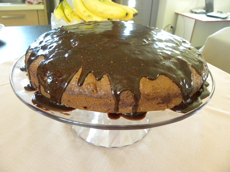 Νηστίσιμο Σοκολατένιο Κέικ Καρότου εικόνα