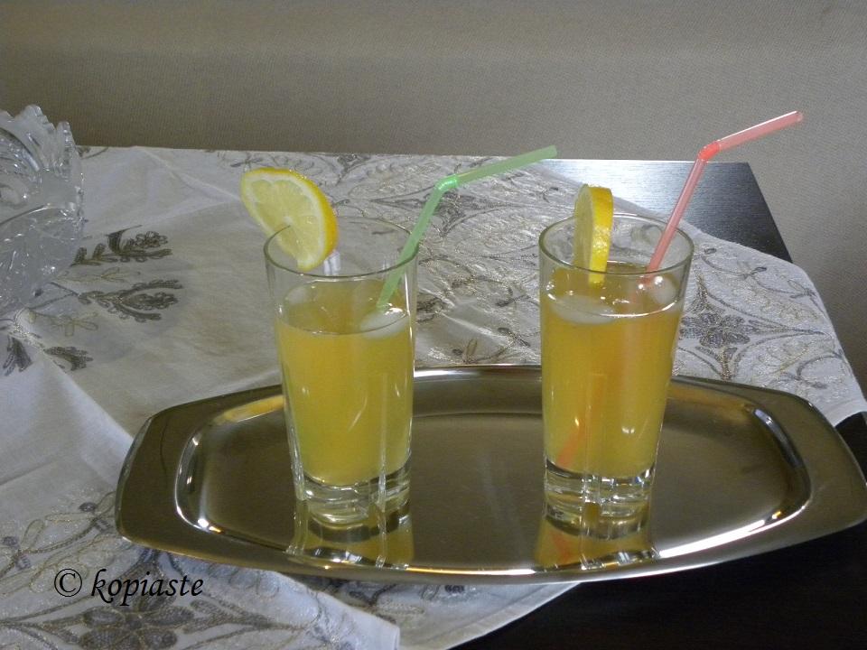 Παγωμένο τσάι λεμονιού εικόνα