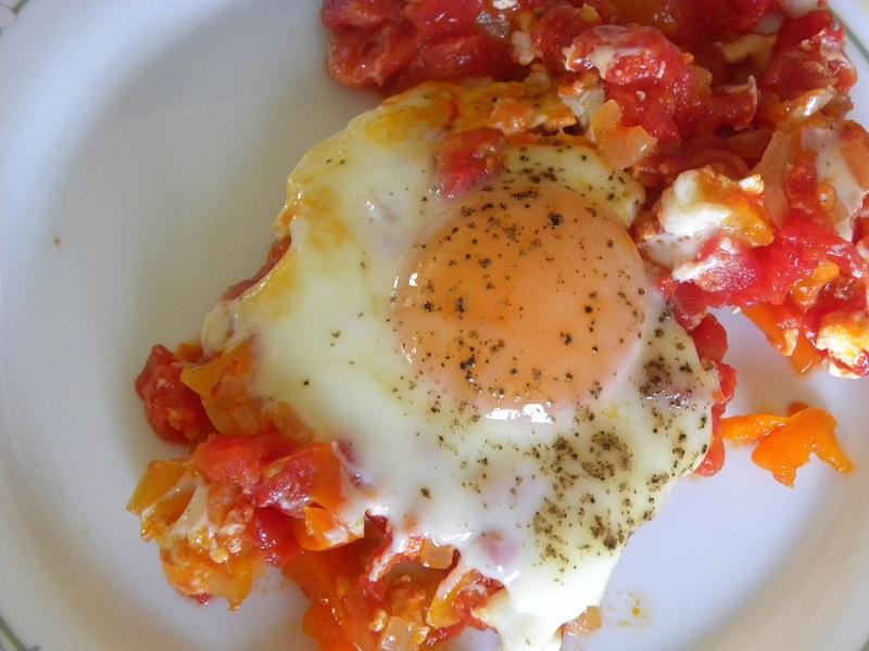 καγιανάς με αυγό μελάτο εικόνα