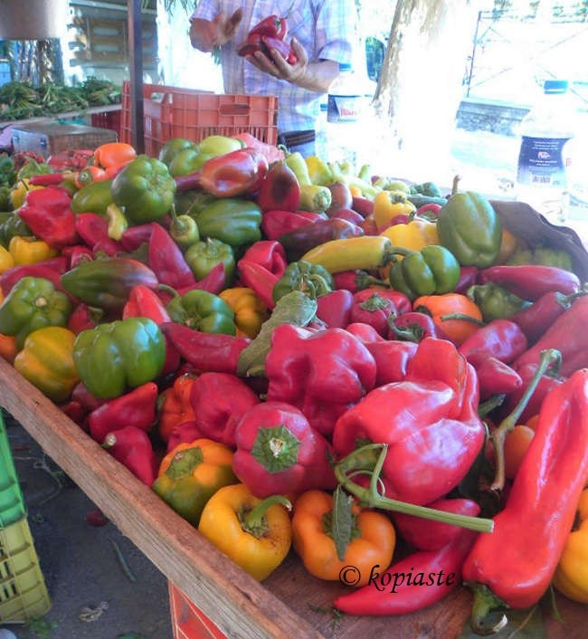 πολύχρωμες πιπεριες εικόνα