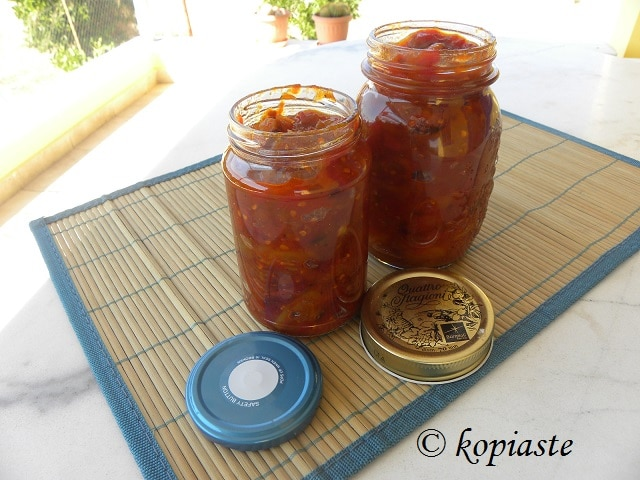 Tomato, Peach, Nectarine and Pear Chutney
