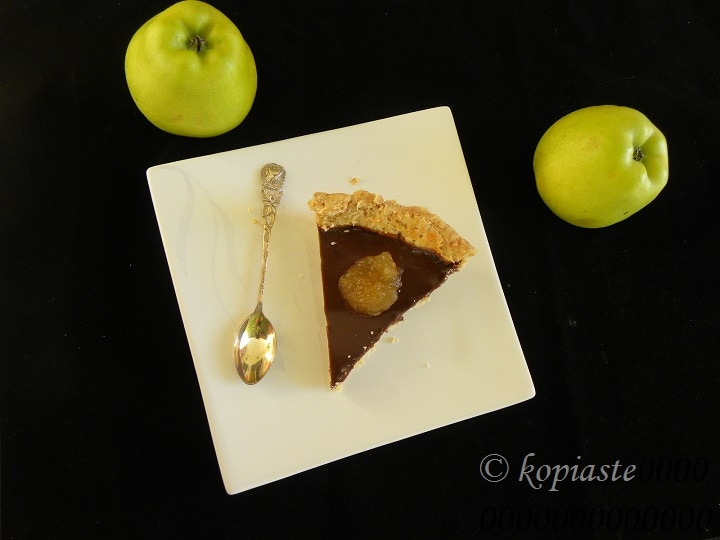 Apple Chocolate Tart