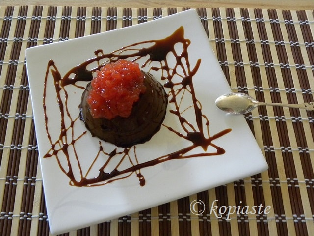 Carob pudding