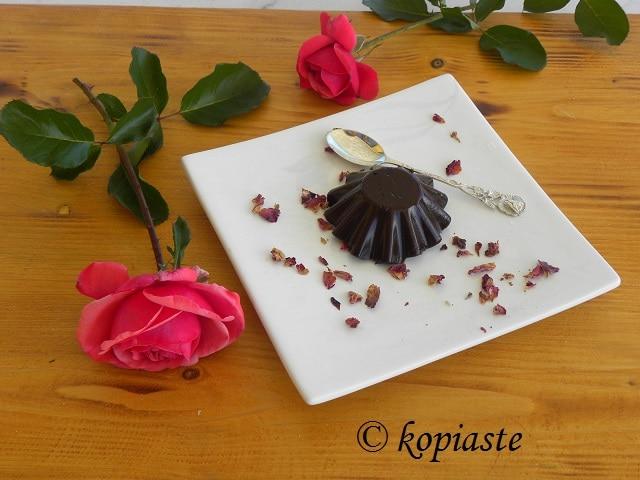 Petimezi and Chocolate cream