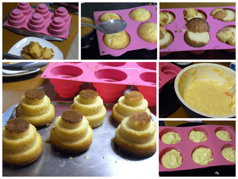 Collage Making mini cakes 2