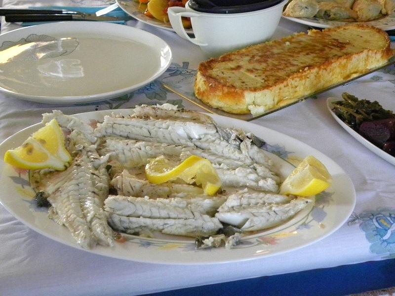 Ψάρι αλά Μπριάμ εικόνα