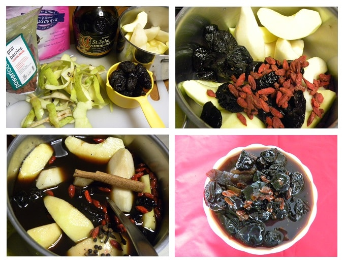 collage poachedfruit