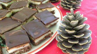 Σοκολατένιες Μπάρες Νανάιμο Με Σαλέπι (χωρίς αυγά)