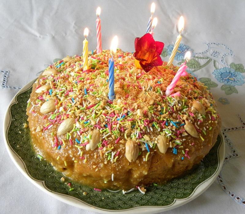 Νηστίσιμο Κέικ με Γλυκοκολοκύθα εικόνα