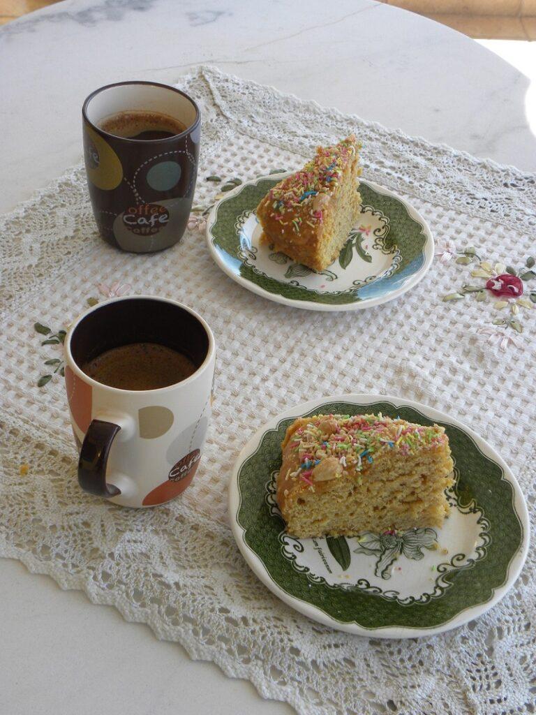 Νηστίσιμο Κέικ Κολοκύθας με μανταρίνι εικόνα