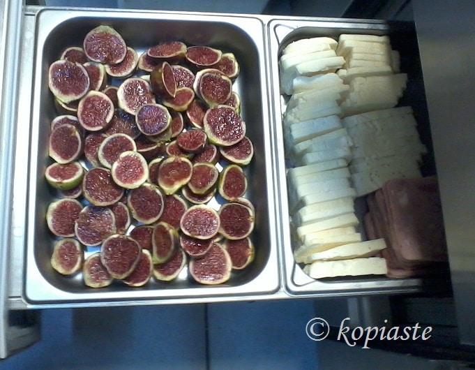 Halloumi and figs