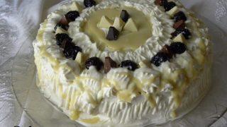 Τούρτα Toblerone με Λευκή Σοκολάτα και Κρεμώδες Τυρί